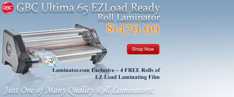 GBC Ultima 65 EZLoad Ready Laminator