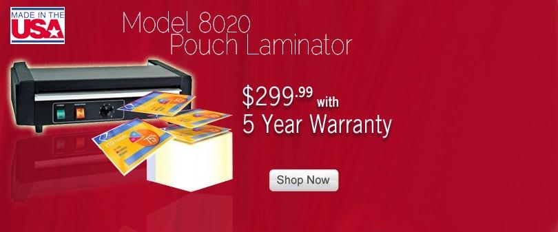 Model 8020 Pro 12-9/16 inch Heavy Duty Pouch Laminator