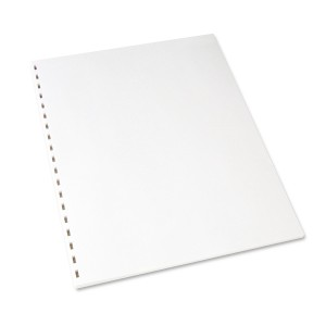 19 Hole Comb Binding Pre-Punched Paper