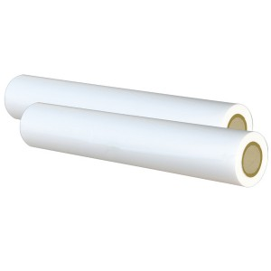 5 mil 27 inch 1000 feet Clear Polyester Superstick Roll Laminating Film