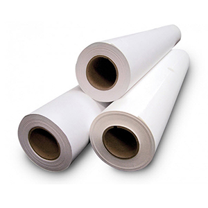 "54"" x 150ft White Double-Sided Mounting Adhesive - Permanent/Permanent (Mounting Adhesive)"