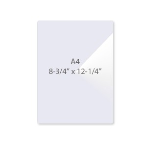 7 Mil A4 Laminating Pouches