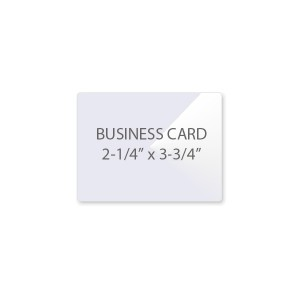 5 Mil Business Card Laminating Pouches