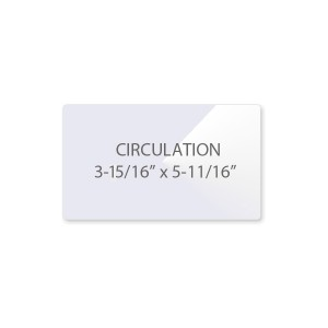 Circulation Card Laminating Pouches