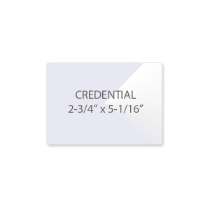 5 Mil Credential Laminating Pouches