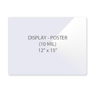 10 Mil Display - Poster Size Laminating Pouches