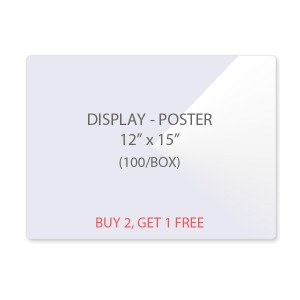 Display - Poster Size Laminating Pouches