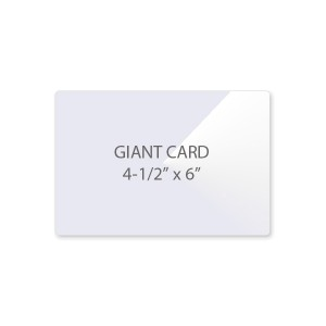 5 Mil Giant Card Laminating Pouches