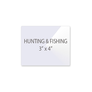 Hunting and Fishing Laminating Pouches