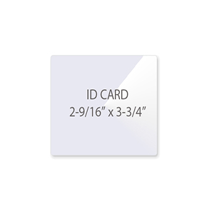 ID - Badge Card Laminating Pouches
