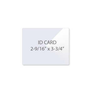 10 Mil ID - Badge Card Laminating Pouches