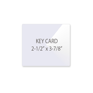 Key Card Laminating Pouches
