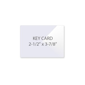 5 Mil Key Card Laminating Pouches