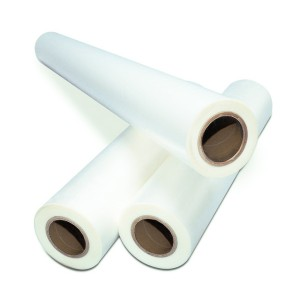 "1.7 mil 12"" x 3000' Clear Low Melt Roll Laminating Film L"