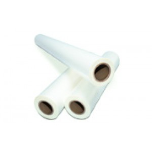 "1.7 mil - 25"" x 3000' Matte Low Melt Roll Laminating Film"