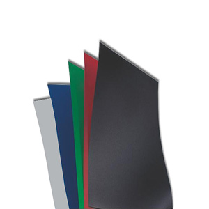 Leather Grain Poly Executive Report Covers 19 mil 8.5 By 11 inch