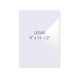 3 Mil Legal Size Laminating Pouches