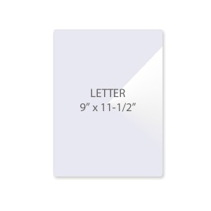 5 Mil Letter Size Laminating Pouches
