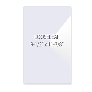 Looseleaf Laminating Pouches