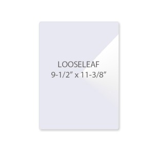 5 Mil LooseLeaf Laminating Pouches