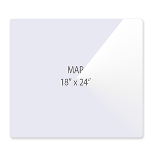 Map Size Laminating Pouches