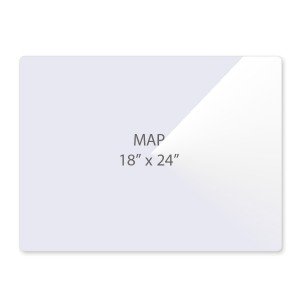 5 Mil Map Size Laminating Pouches