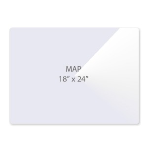 10 Mil Map Size Laminating Pouches
