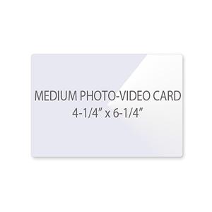 Medium Photo - Video Card Laminating Pouches