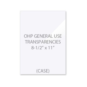 OHP General Use Transparency Film Case