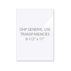 OHP General Use Transparency Film