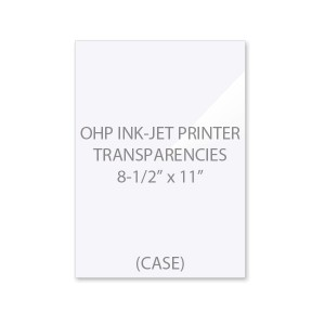 OHP Ink-Jet Printer Transparency Film (Case)