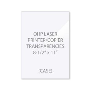 OHP Laser Printer - Copier Transparency Film (Case)