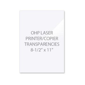 OHP Laser Printer - Copier Transparency Film