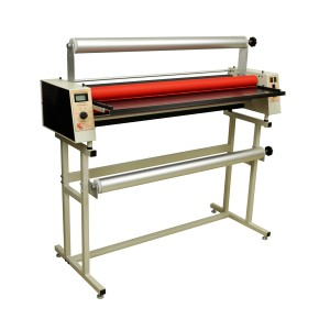 PL244WF - 45 inch Wide Format Roll/Mounting Laminator with Stand