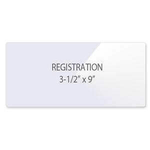 Registration Laminating Pouches
