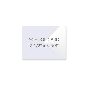 7 Mil School Card Laminating Pouches
