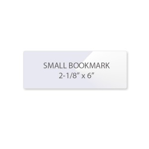 7 Mil Bookmark Laminating Pouches - Small