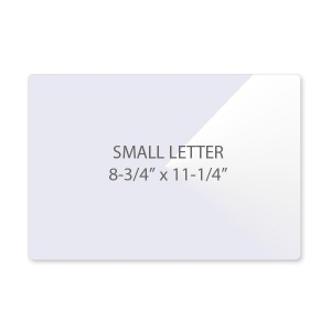 5 Mil Small Letter Size Laminating Pouches