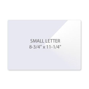 3 Mil Small Letter Size Laminating Pouches