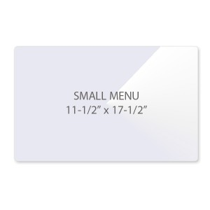 5 Mil Small Menu Size Laminating Pouches