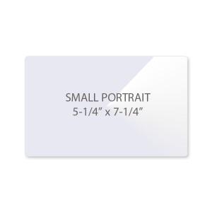 7 Mil Small Portrait Photo Laminating Pouches