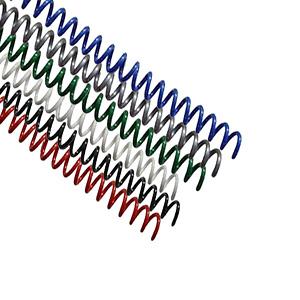 Spiral Coil Binding Supplies 20mm 0.75 inch Inside Diameter