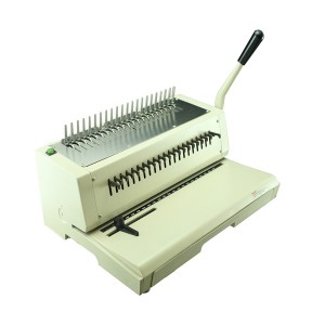 Tamerica 210EPB Electric Punch Plastic Comb Binding Machine