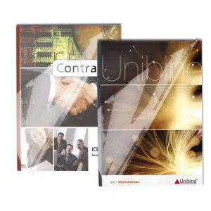 UniBind SteelCrystal Clear Binding Covers - 15mm 8.5 by 11 inch