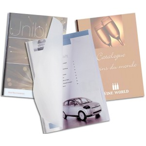 UniBind SteelMat Matte Binding Covers - 15mm 8.5 by 11 inch