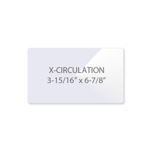 7 Mil Extra Circulation Card Laminating Pouches