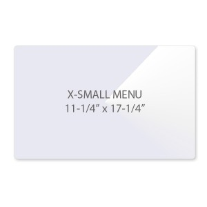 3 Mil Extra Small Menu Size Laminating Pouches