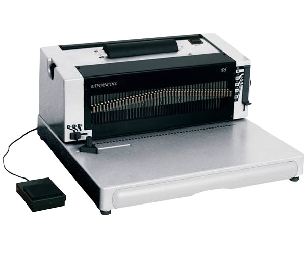 Akiles iCoil 41 Coil Binding Machine w/ Electric Inserter ... |Coil Binding Machine