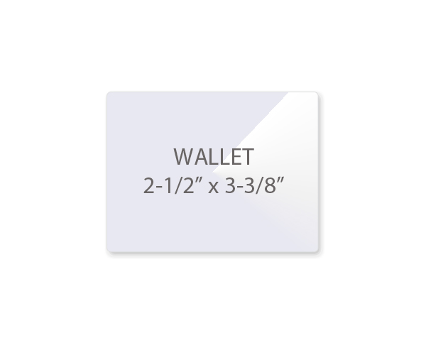 wallet picture size
