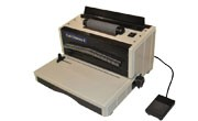 DFG Coil Ultimate E Extra Heavy Duty Plastic Coil Binding Machine
